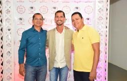 #tapetevermelho Nelson Sérgio Alves (Banco do Brasil de Irecê) e Andeson Miranda (Banco do Brasil de Ibititá)