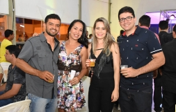 Queli Gonsalves (Banco do Brasil de São Gabriel) e Alexsandro Lima  #fimdeano #bancáriosirecêeregião #festa