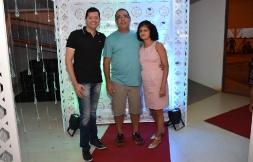 #tapetevermelho Luciano Bonfim, Carlos Roberto (Bradesco de Xique-Xique) e Célia Regina Machado (Banco do Brasil de Xique-Xique)